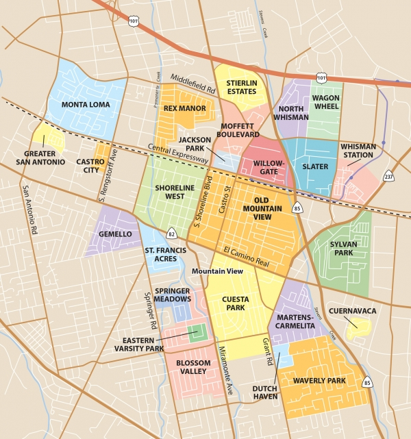Neighborhoods Map